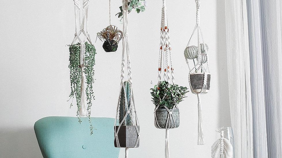Cotton Hanging Planters