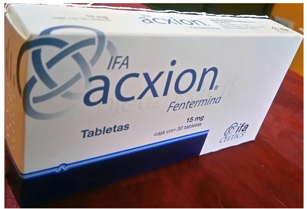 Acxion pastillas para adelgazar