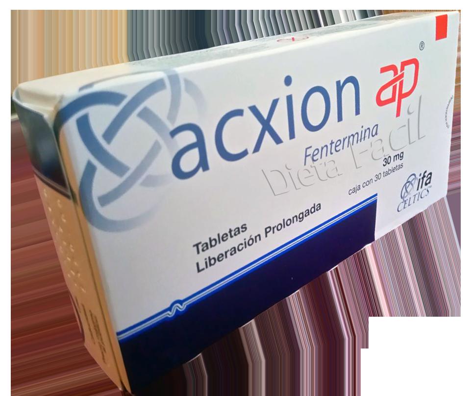 Las pastillas acxion sirven para bajar de peso