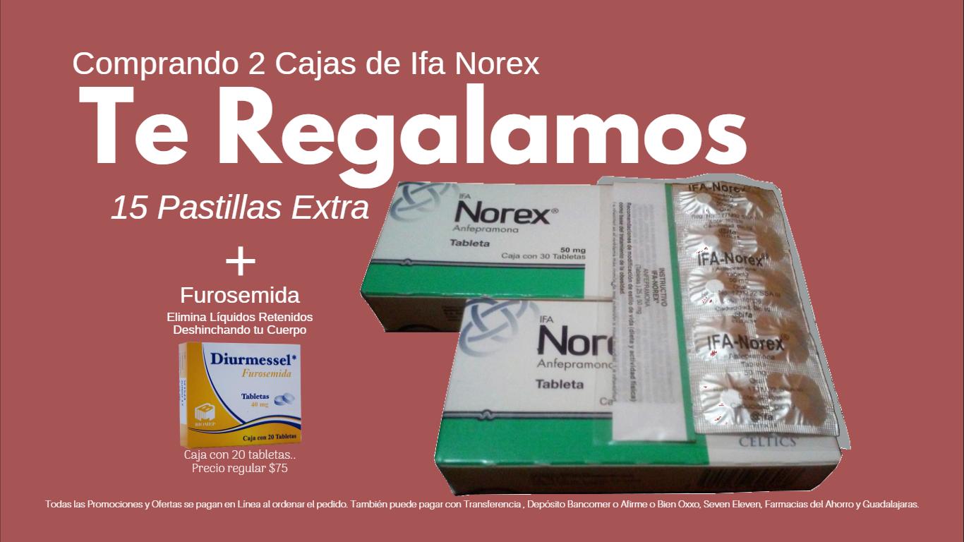Paga 2 Norex Llévate media caja mas