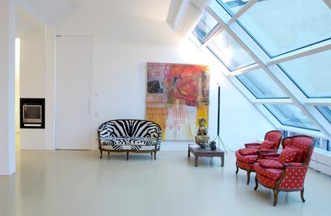 Dachgeschossausbau / studioacht - Suzanne Faltenbacher
