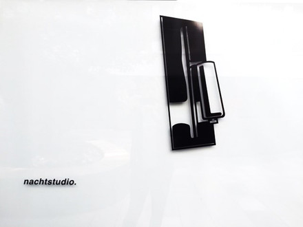 Window Art Installation nachtstudio - Suzanne Faltenbacher