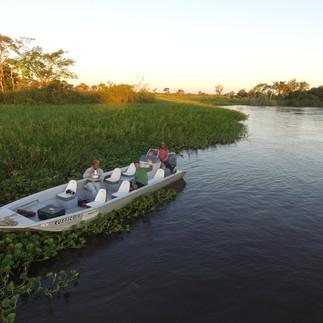 Jaguar Camp boat -- Rustico