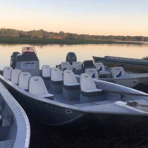 Jaguar Camp boats