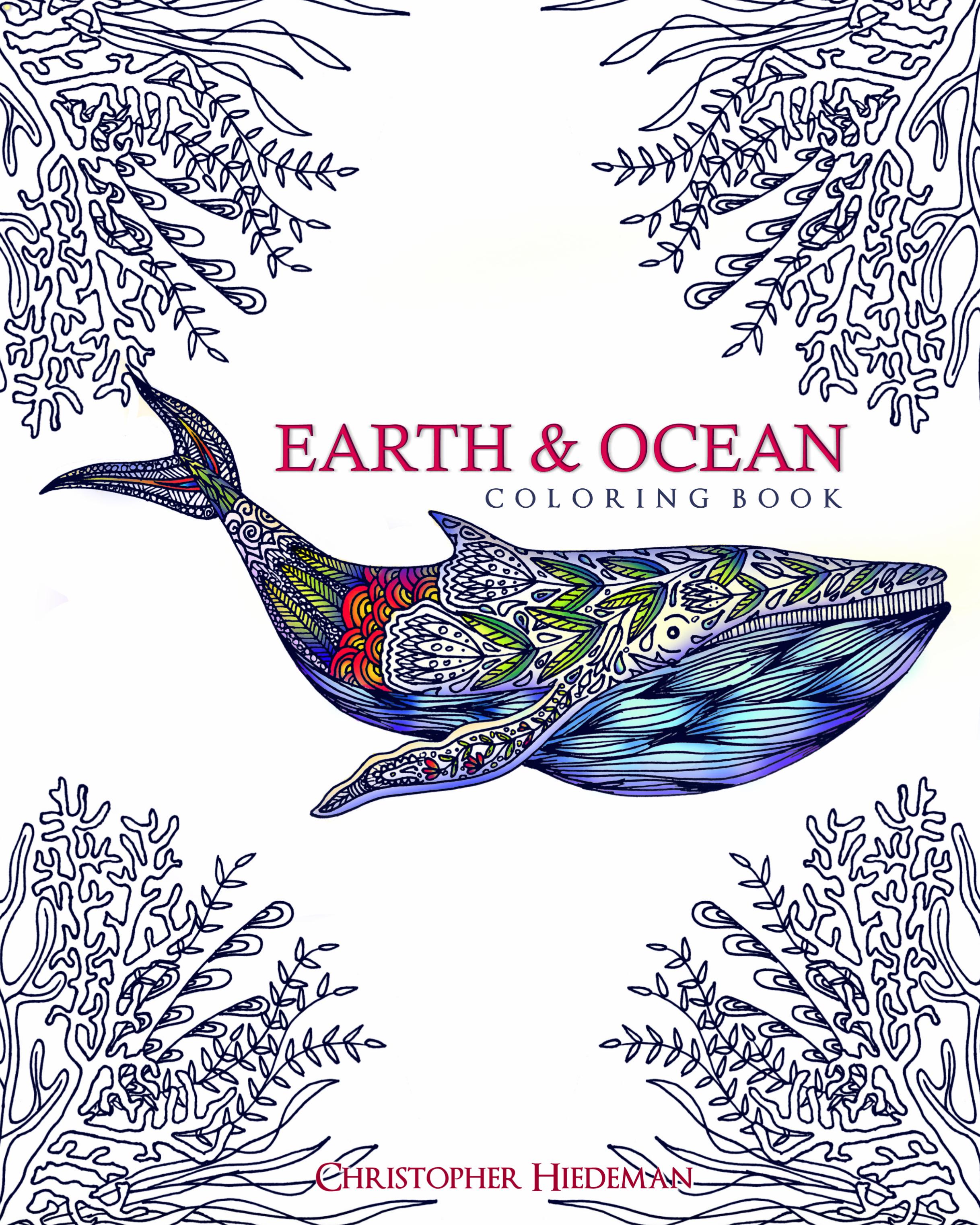 Earth & Ocean Coloring Book