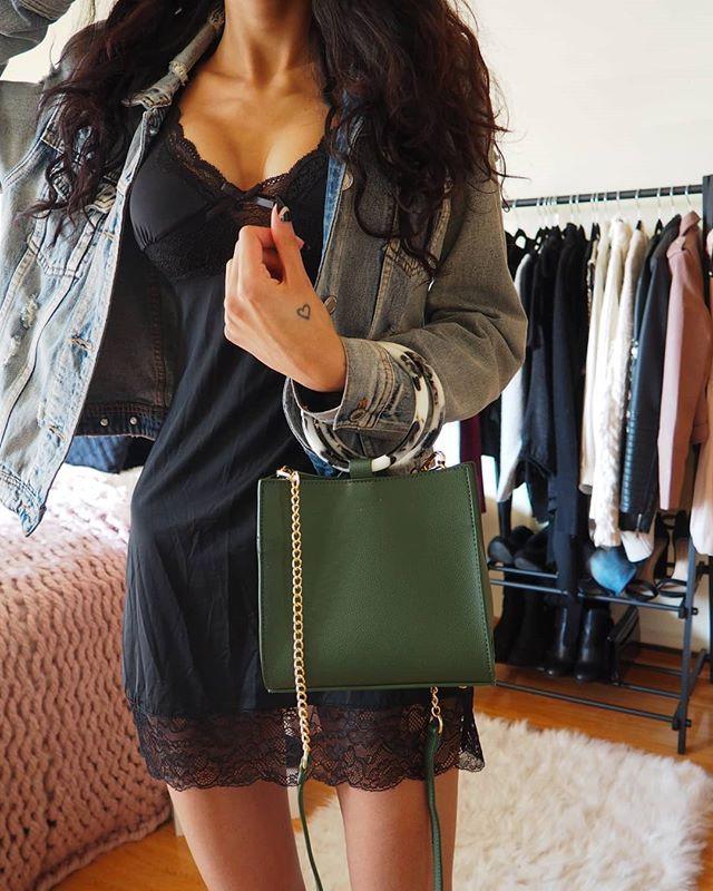 lace black dress outfit