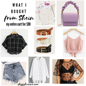 shein haul and review fun fashion for under $90