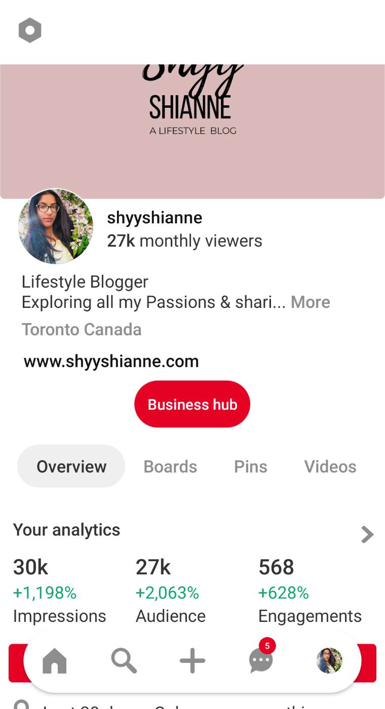pinterest stats how to get followers