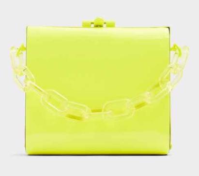 neon handbags
