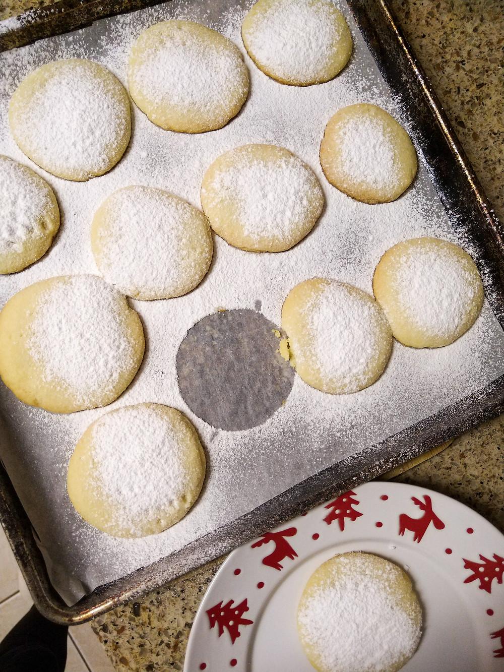 christmas cookies shortbread cookies