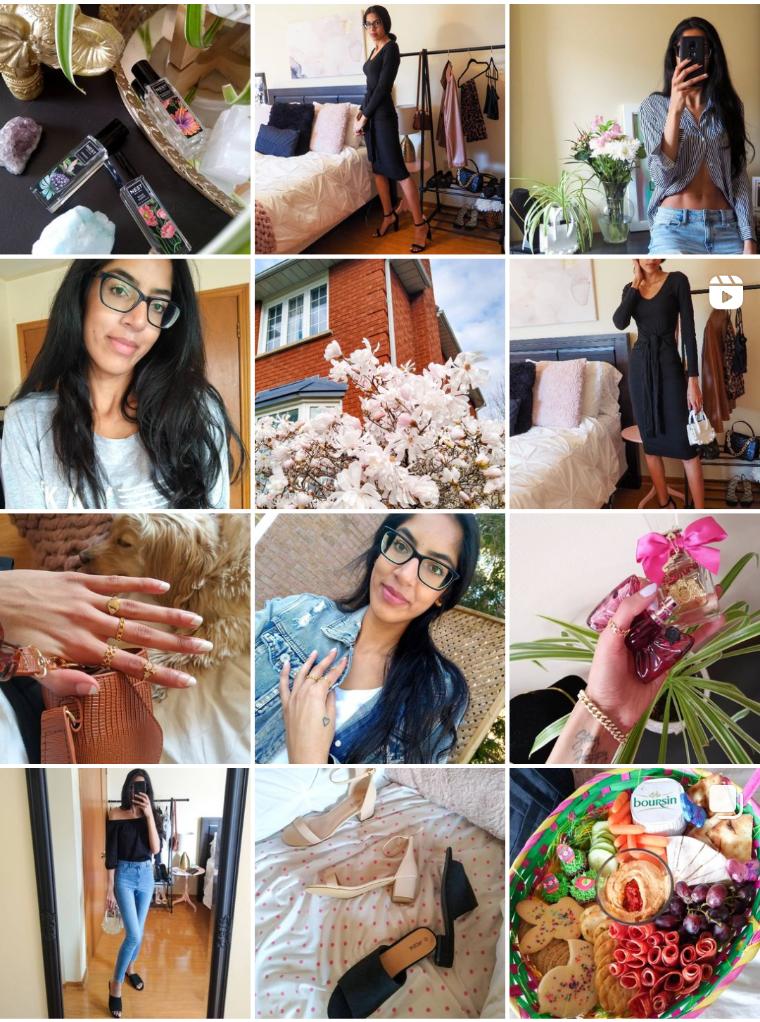 instagram feed aesthetic