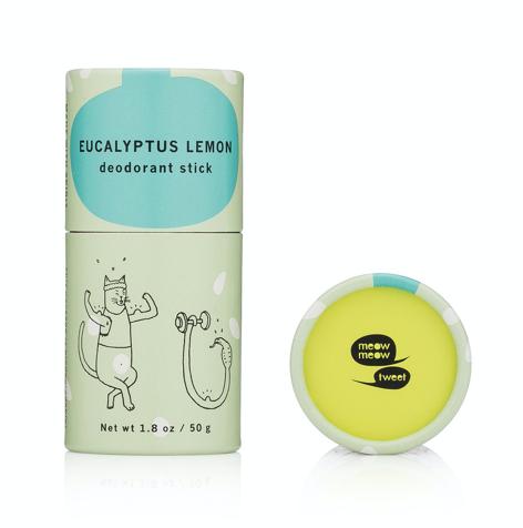 Meow Meow Tweet Natural Deodorant - Eucalyptus Lemon