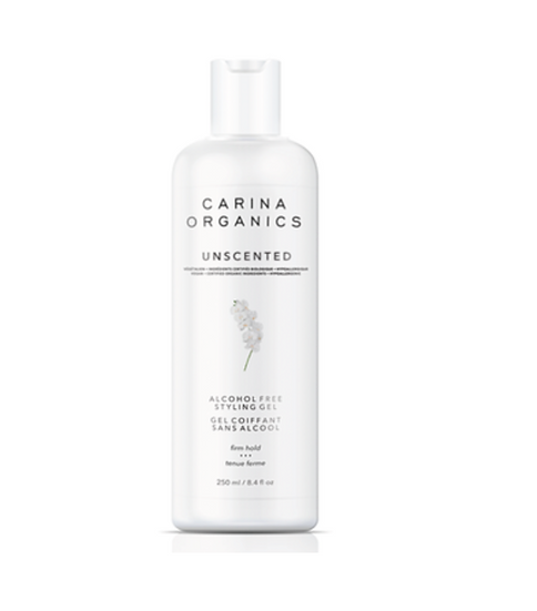 Unscented Alcohol Free Styling Gel by Carina Organics