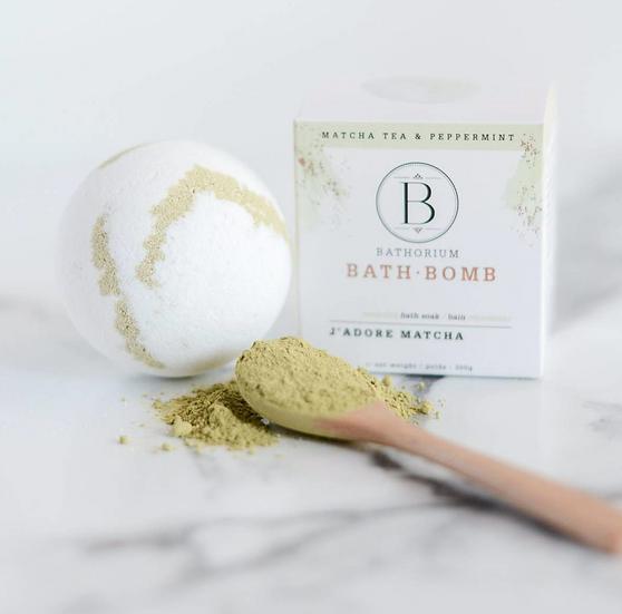 J'adore Matcha Bath Bomb by Bathorium