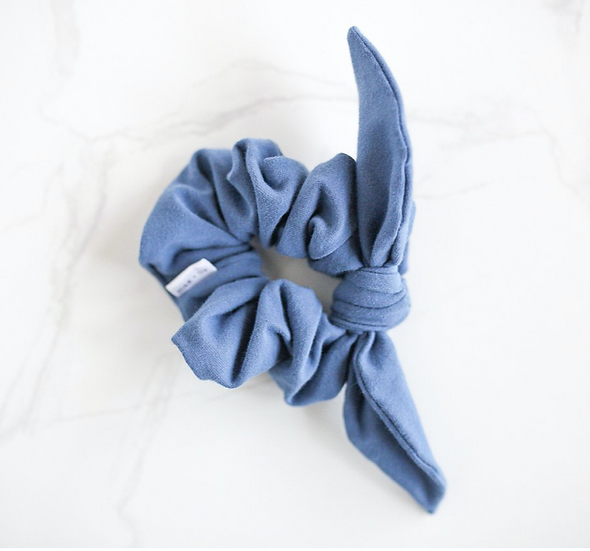 Large Scrunchie With Bow by Max and Liv