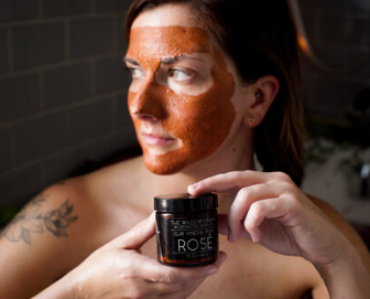 Refill of Clay Mineral Rose Mask by The Willow's Bark
