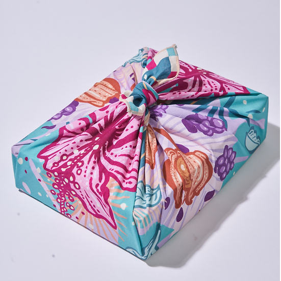 Wrappr No-Waste Gift Wrap Small- Happy Hour (5)