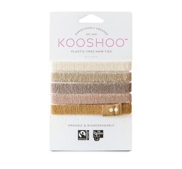 Organic Cotton Hair Ties by Kooshoo