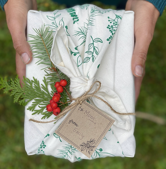 Furoshiki Gift Wrap- Green