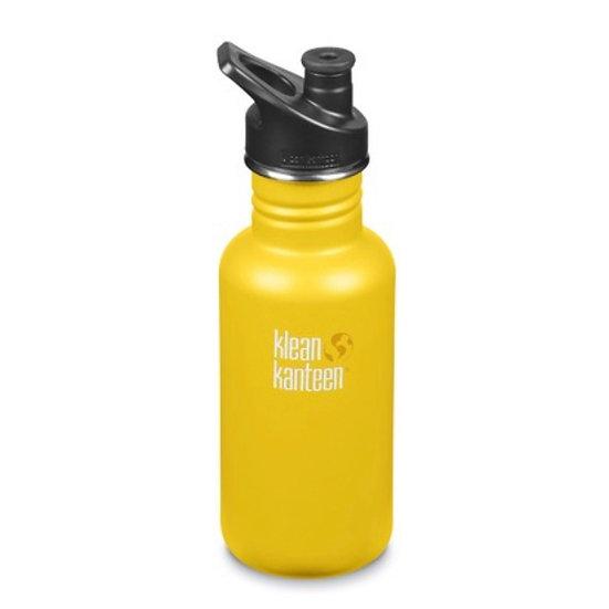 Classic 18oz Water Bottle - Lemon Curry