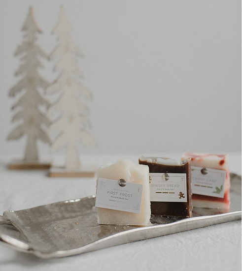 Holiday Soaps by Charcoal and Rose Petals