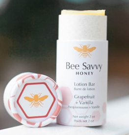 Bee Savvy Lotion Bar -Grapefruit + Vanilla