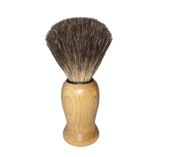 Badger Hair Shave Brush by Redecker