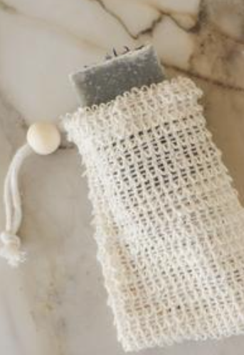 Woven Agave Soap Saver