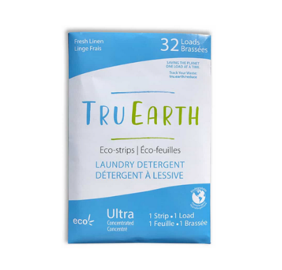 Tru Earth Laundry Strips (32 loads) Fresh Linen