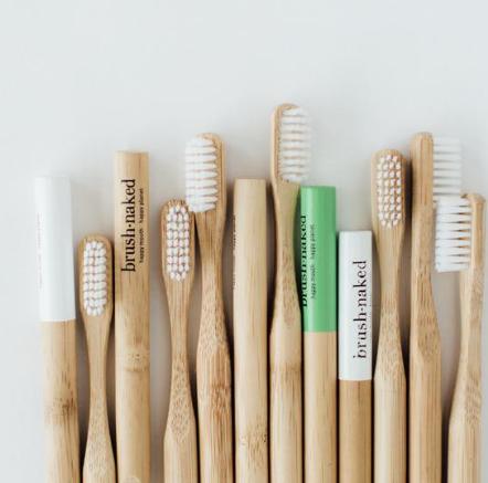 Brush Naked Bamboo Toothbrush Adult