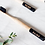 Thumbnail: BKIND Charcoal Infused Bamboo Toothbrush Adult