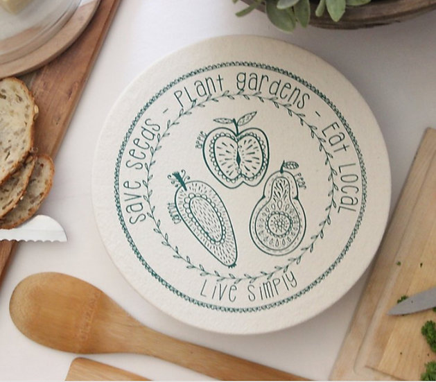 Your Green Kitchen Medium Bowl Cover
