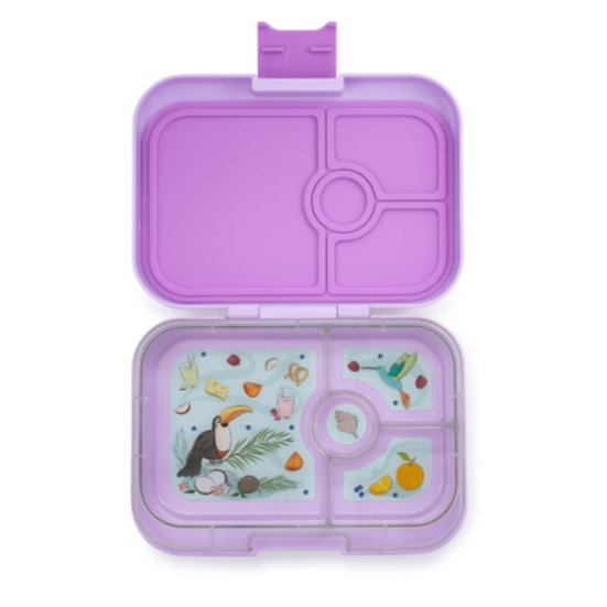 Yumbox Panino 4 Compartment- Lila Purple