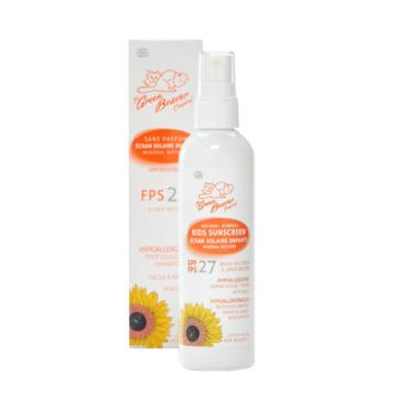 The Green Beaver Company Kids Mineral SPF 27 Sunscreen Spray
