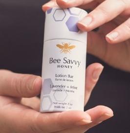 Bee Savvy Lotion Bar - Lavender + Mint