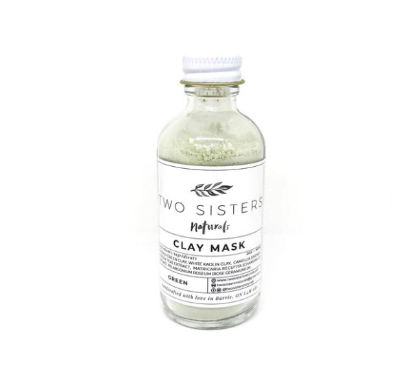 Refill of Clay Mask by Two Sisters Naturals (1oz)