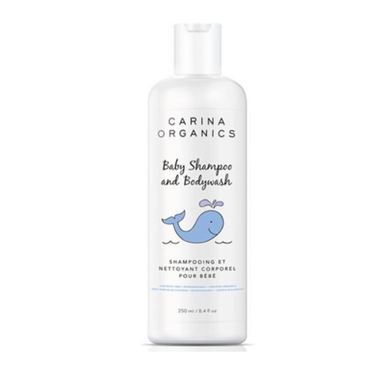 Carina Organics Sweet Pea Baby Shampoo and Body Wash