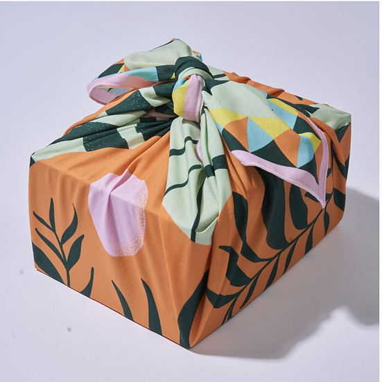 Wrappr No-Waste Gift Wrap Large- High Noon (9)