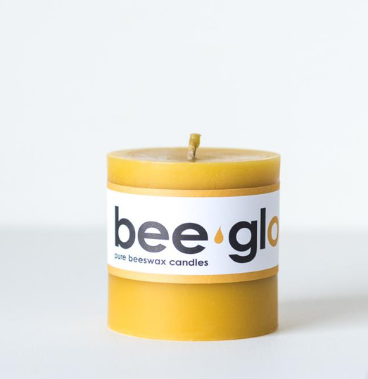 Bee Glo Pedestal Candle