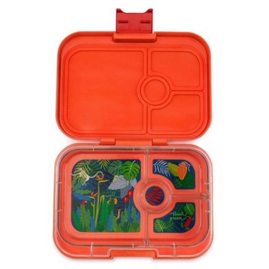 Yumbox Panino 4 Compartment- Safari Orange