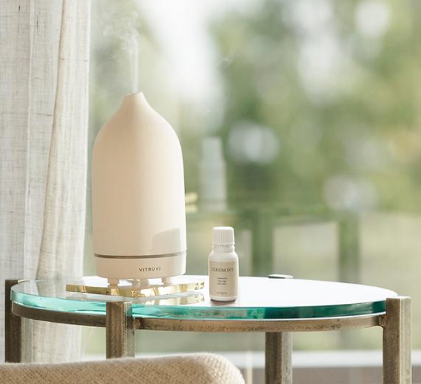 Stone Essential Oil Diffuser by Vitruvi
