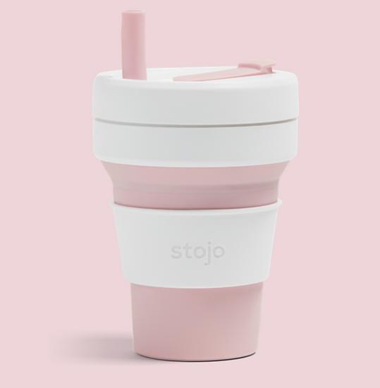 Stojo Biggie Travel Cup Pink