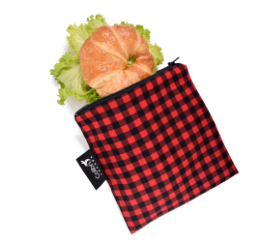 Colibri Snack Bag Large Plaid