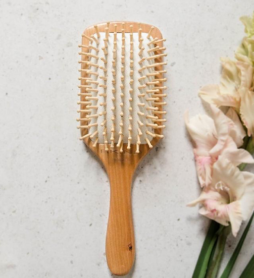 BKIND Bamboo Hairbrush Biodegradable