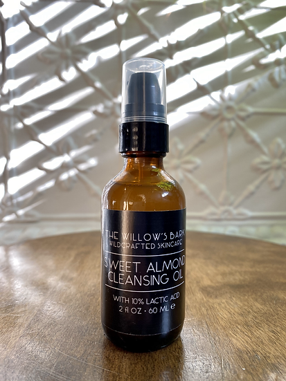 Sweet Almond Cleansing Oil 2oz