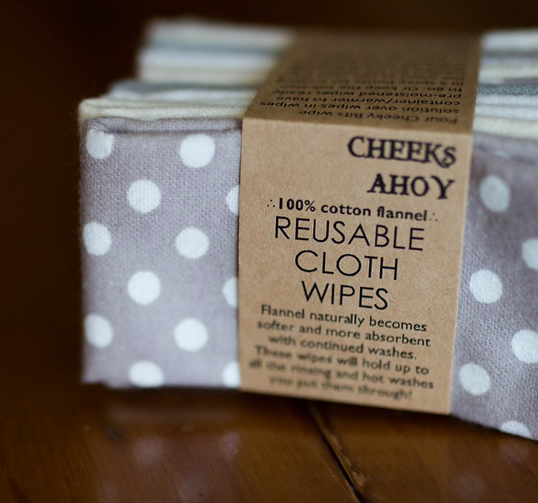 Cheeks Ahoy Cloth Wipes 10 Pack