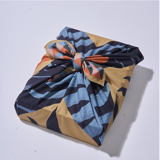 Wrappr No-Waste Gift Wrap Small- Midnight (4)