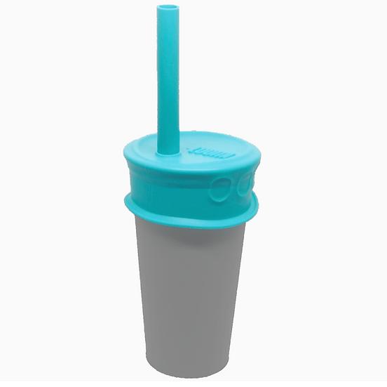 Luumi Silicone Bubble Tea Lid + Straw
