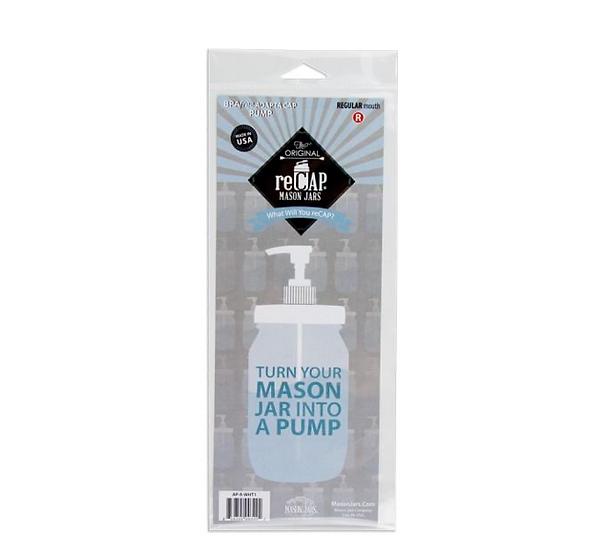 reCAP Adapta Pump Mason Jar Lid