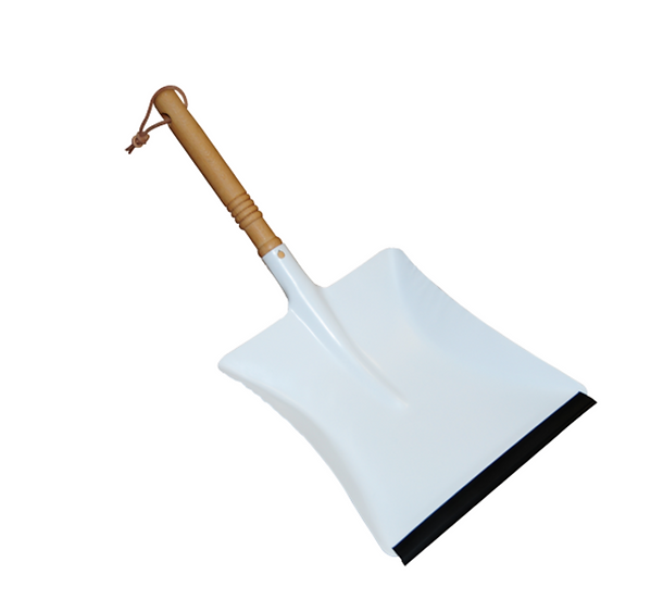 Redecker Dustpan White Metal